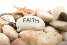 Faith is the substance of things hoped for...
